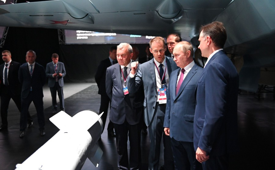 MAKS 2021 PH 15 XX 24 Visite du salon international de l'aviation et de l'espace MAKS-2021 - 20 juillet 2021 - 13H35