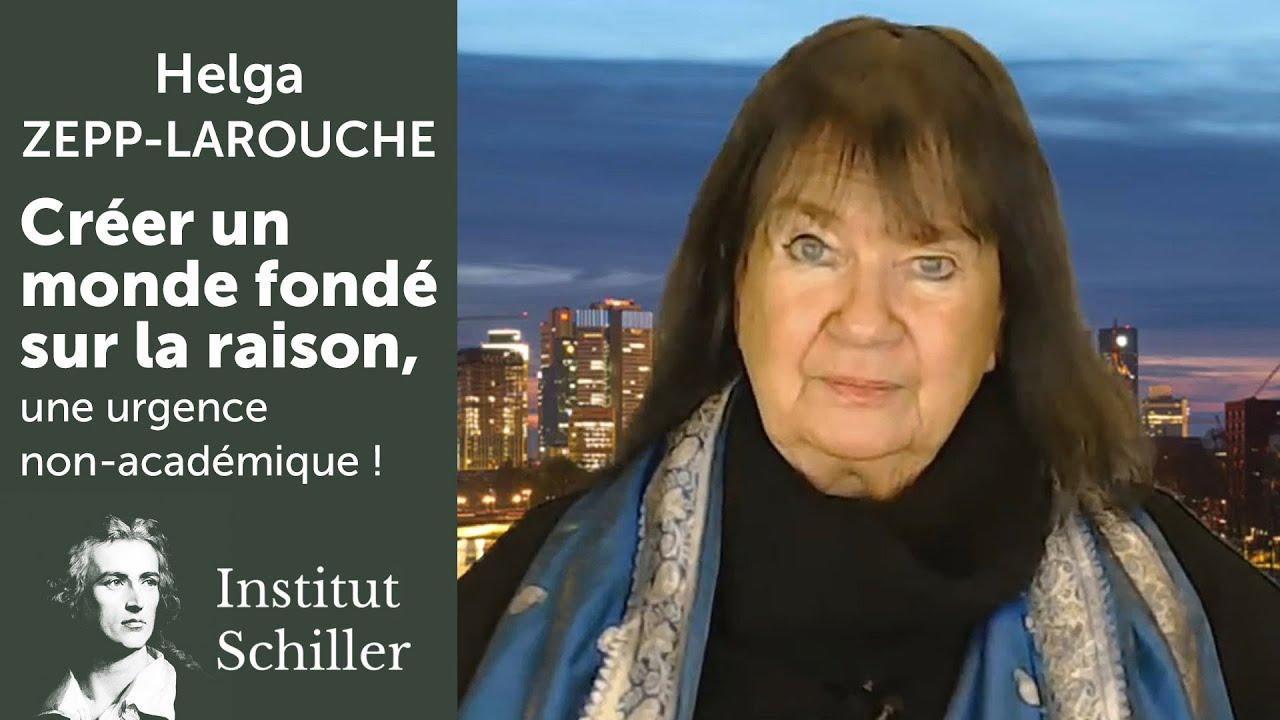 maxresdefaultHelga Zepp-LaRouche, Présidente de l'Institut Schiller