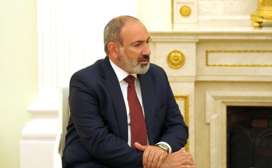 RU ARMENIE 2 XX 2 DU 07.07.2921 Rencontre avec le Premier ministre par intérim d'Arménie Nikol Pashinyan - 7 juillet 2021 – 19h45
