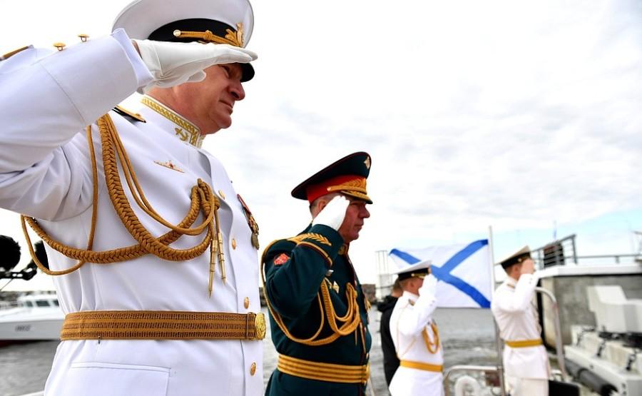 RUSSIE 1 XX 47 Parade navale principale - 25 juillet 2021 - 12H10