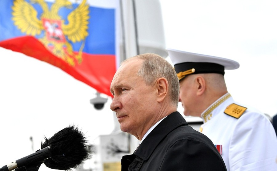 RUSSIE 10 XX 47 Parade navale principale - 25 juillet 2021 - 12H10