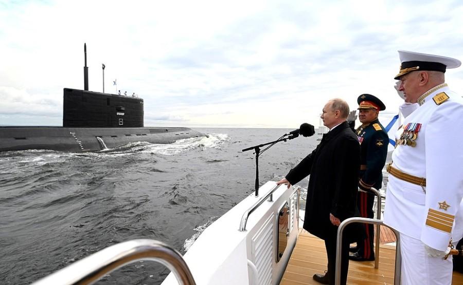 RUSSIE 11 XX 47 Parade navale principale - 25 juillet 2021 - 12H10