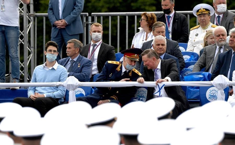 RUSSIE 14 XX 47 Parade navale principale - 25 juillet 2021 - 12H10
