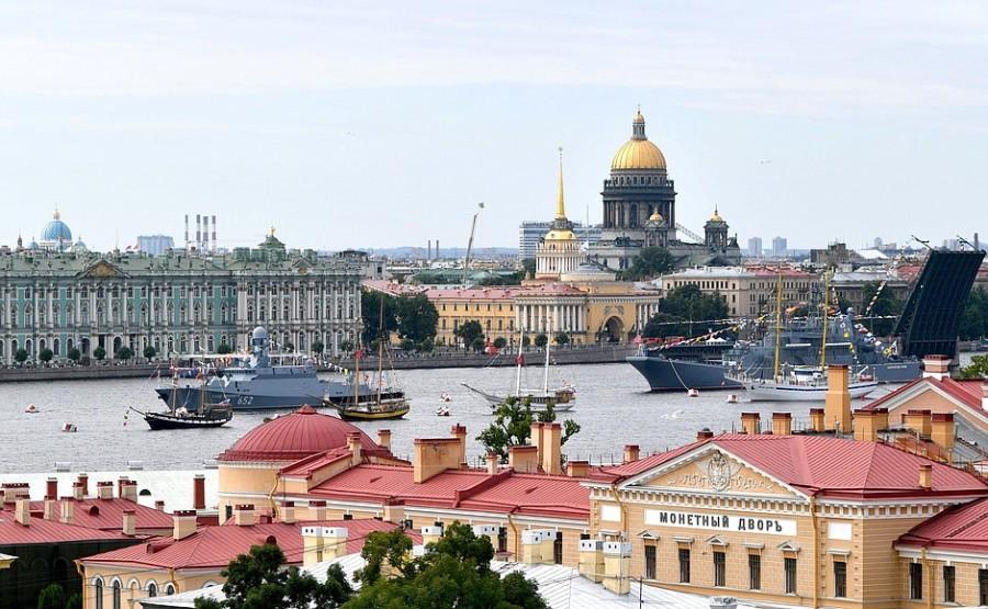 RUSSIE 15 XX 47 Parade navale principale - 25 juillet 2021 - 12H10