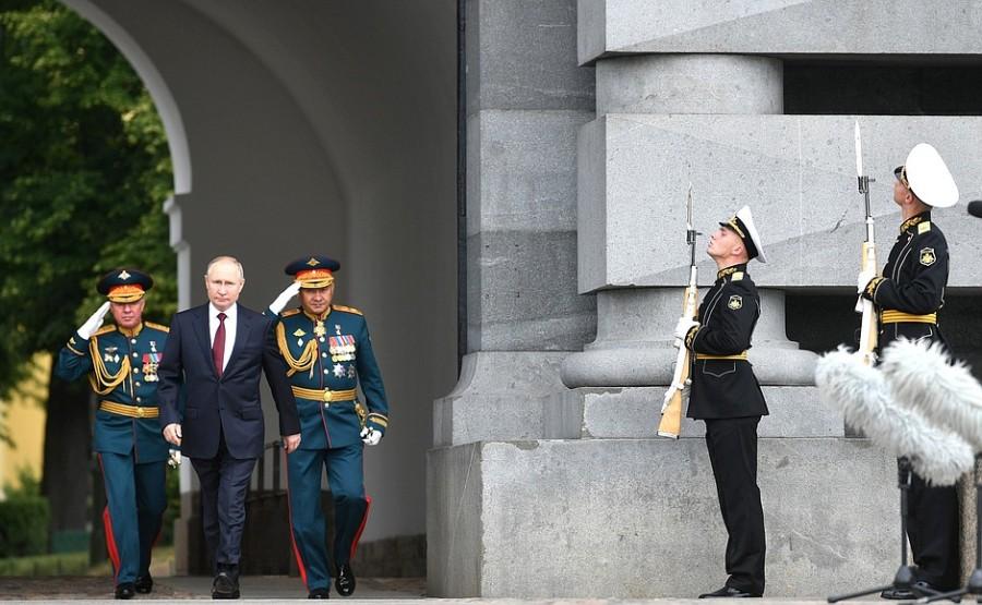 RUSSIE 16 XX 47 Parade navale principale - 25 juillet 2021 - 12H10
