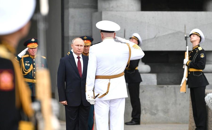 RUSSIE 17 XX 47 Parade navale principale - 25 juillet 2021 - 12H10