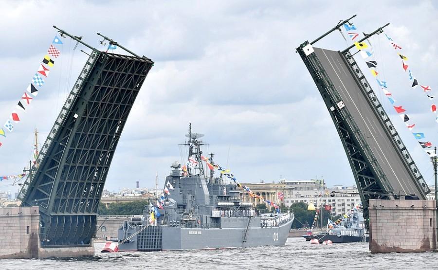 RUSSIE 18 XX 47 Parade navale principale - 25 juillet 2021 - 12H10