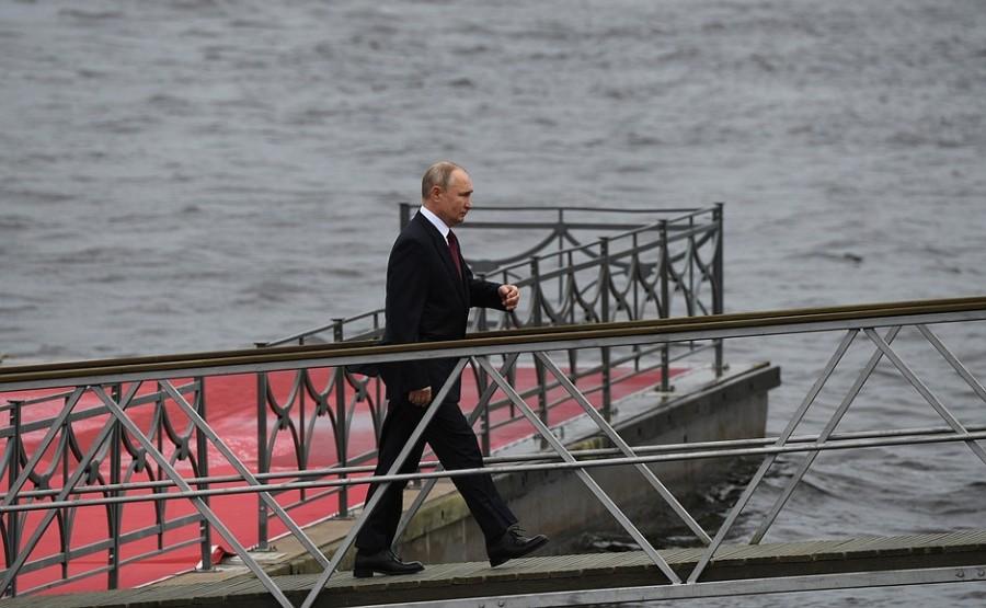 RUSSIE 23 XX 47 Parade navale principale - 25 juillet 2021 - 12H10