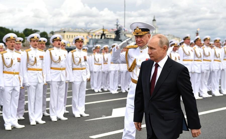 RUSSIE 25 XX 47 Parade navale principale - 25 juillet 2021 - 12H10