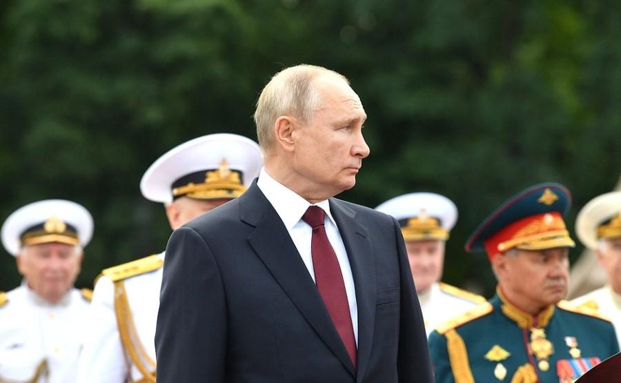 RUSSIE 26 XX 47 Parade navale principale - 25 juillet 2021 - 12H10