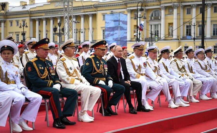 RUSSIE 29 XX 47 Parade navale principale - 25 juillet 2021 - 12H10