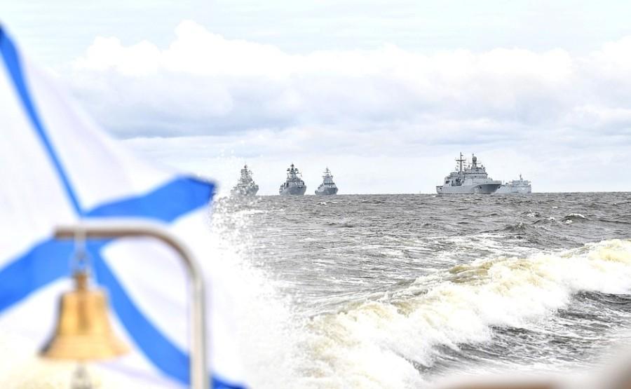 RUSSIE 3 XX 47 Parade navale principale - 25 juillet 2021 - 12H10
