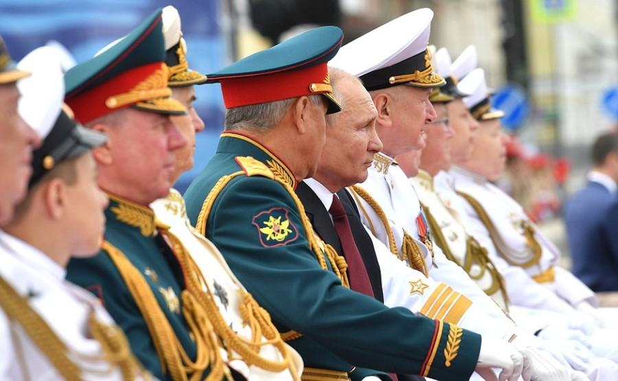 RUSSIE 30 XX 47 Parade navale principale - 25 juillet 2021 - 12H10