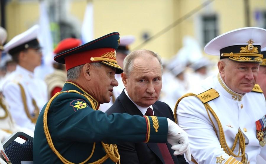 RUSSIE 31 XX 47 Parade navale principale - 25 juillet 2021 - 12H10