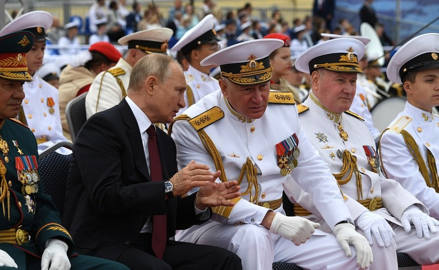 RUSSIE 32 XX 47 Parade navale principale - 25 juillet 2021 - 12H10