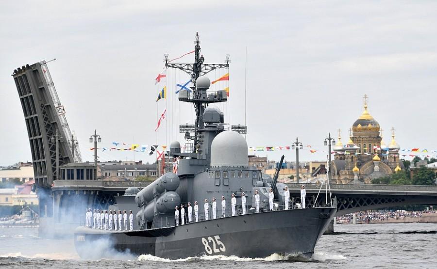 RUSSIE 34 XX 47 Parade navale principale - 25 juillet 2021 - 12H10