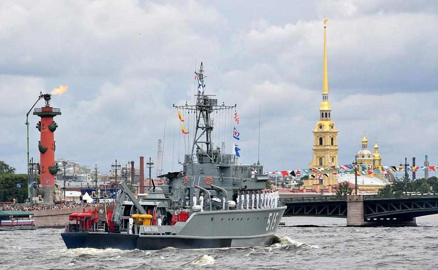 RUSSIE 36 XX 47 Parade navale principale - 25 juillet 2021 - 12H10