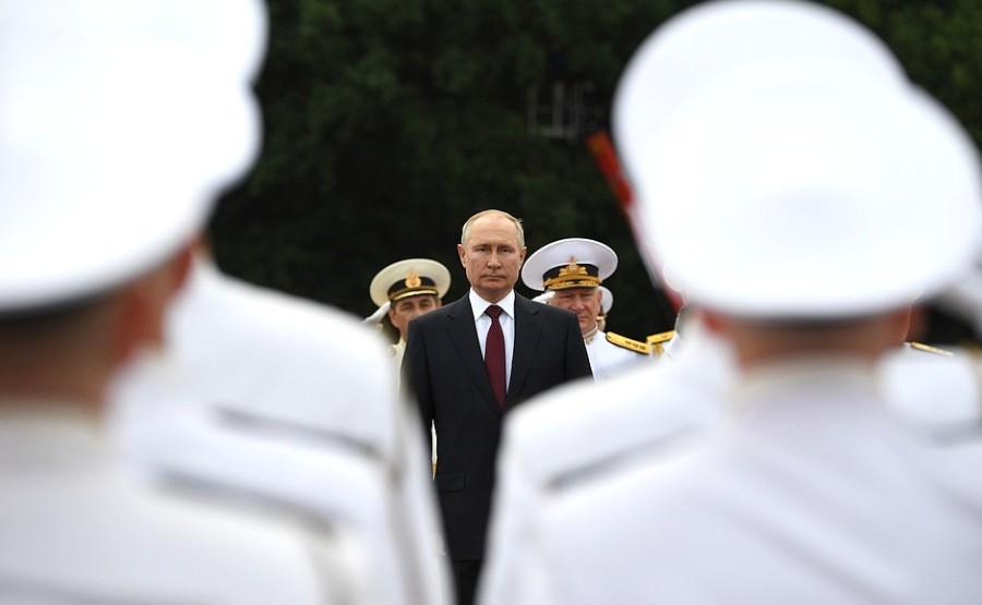 RUSSIE 37 XX 47 Parade navale principale - 25 juillet 2021 - 12H10
