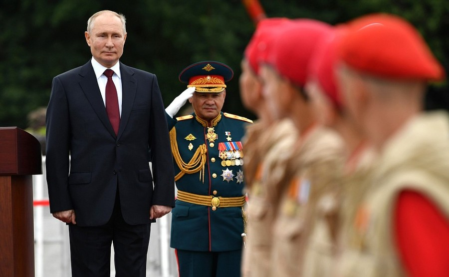 RUSSIE 39 XX 47 Parade navale principale - 25 juillet 2021 - 12H10