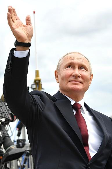 RUSSIE 44 XX 47 Parade navale principale - 25 juillet 2021 - 12H10