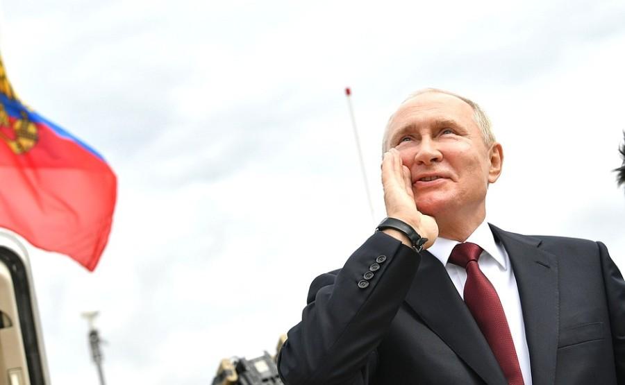 RUSSIE 46 XX 47 Parade navale principale - 25 juillet 2021 - 12H10