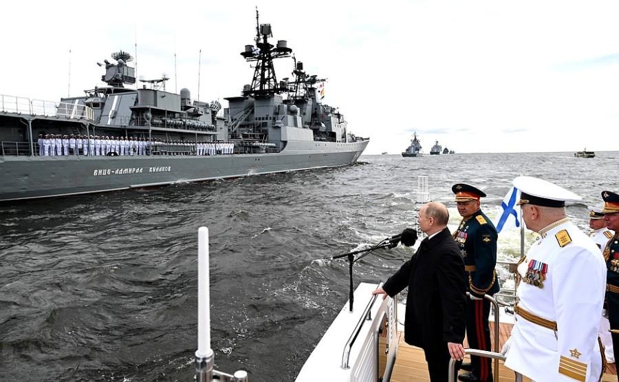 RUSSIE 5 XX 47 Parade navale principale - 25 juillet 2021 - 12H10