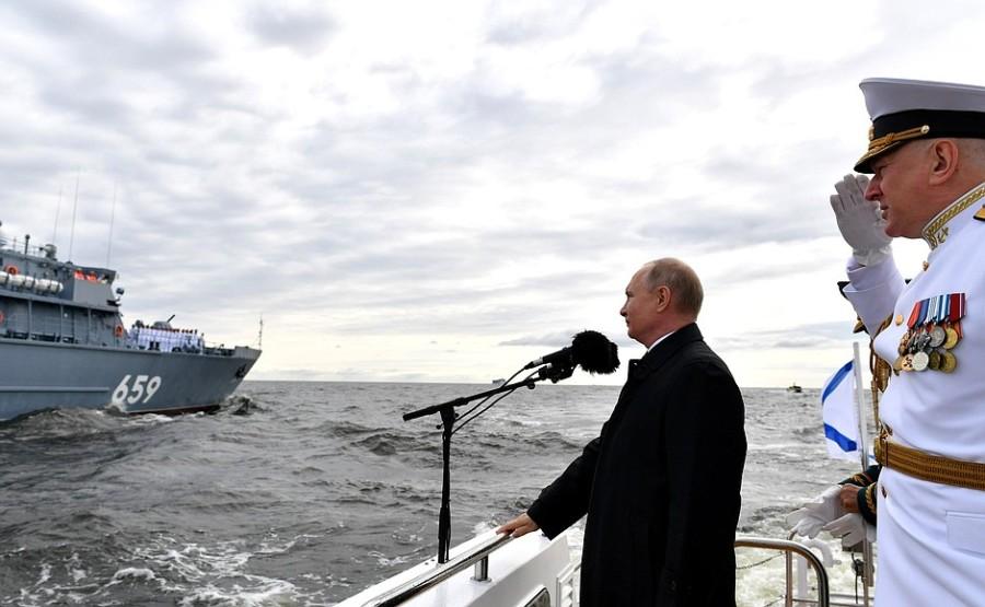 RUSSIE 7 XX 47 Parade navale principale - 25 juillet 2021 - 12H10