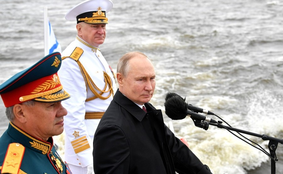RUSSIE 8 XX 47 Parade navale principale - 25 juillet 2021 - 12H10