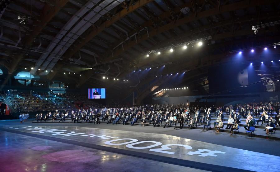 Soirée de gala à l'occasion du 300e anniversaire de Kuzbass 2