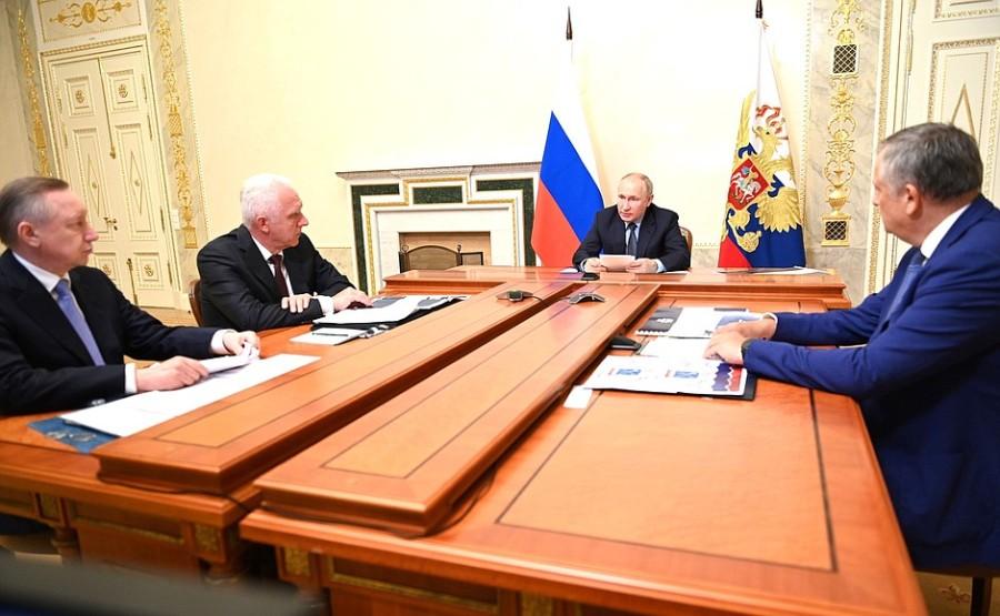 ST PETERSBOURG 1 XX 6 Réunion sur le développement du hub de transport de Saint-Pétersbourg - 26 juillet 2021